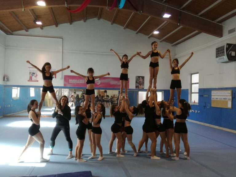 Cheerleader e ballerine invadono la Pro Lissone Ginnastica