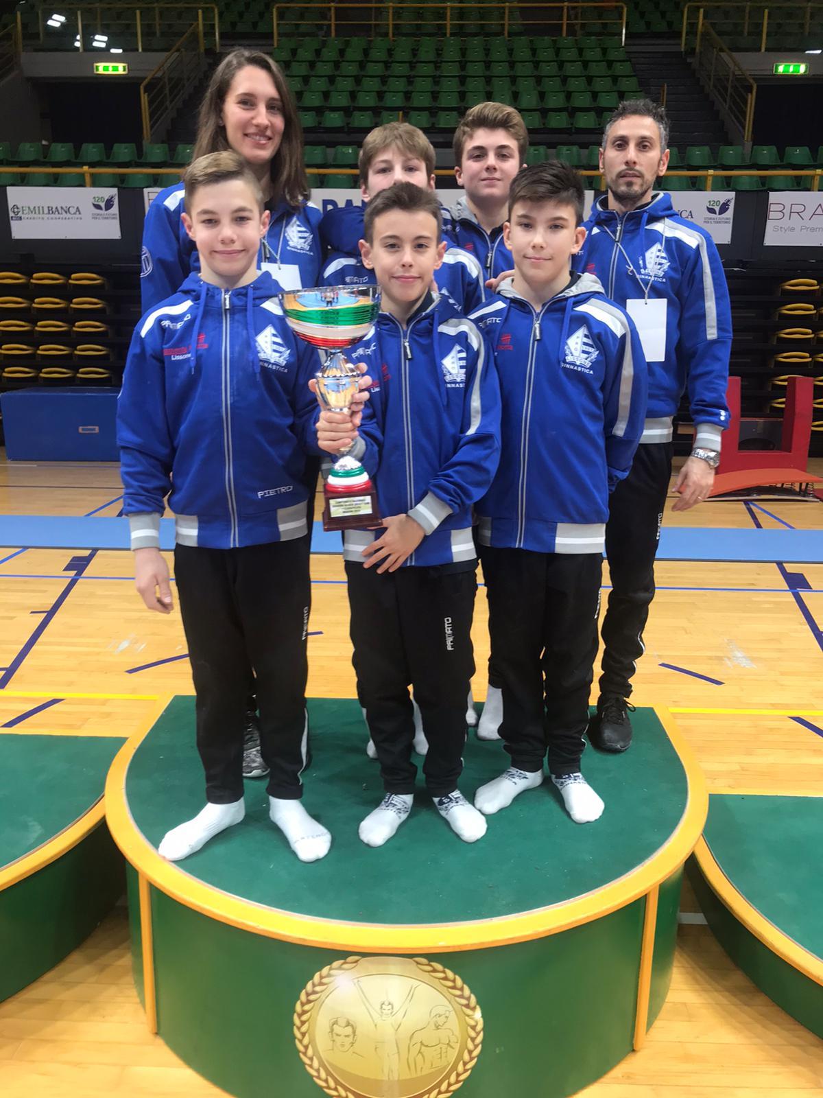 Pro Lissone/maschile: Gold 1 campione d'Italia