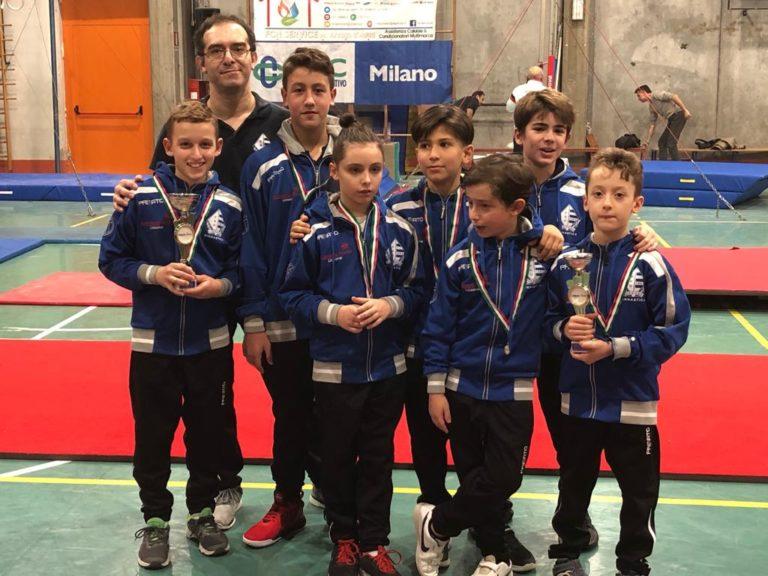 Pro Lissone Ginnastica, ragazzi sul podio al Trofeo delle Regioni