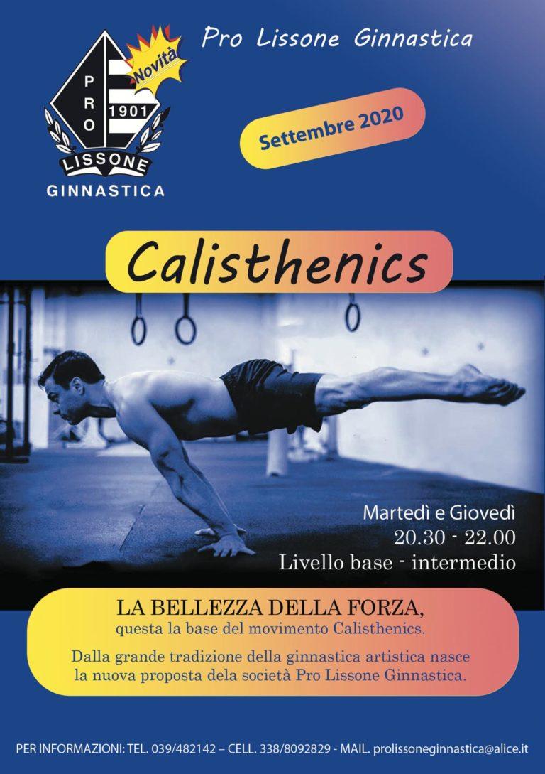 NUOVO CORSO CALISTHENICS