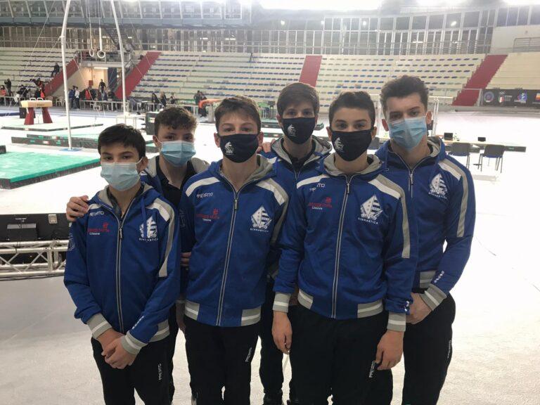 Pro Lissone Ginnastica. Serie B: la squadra maschile chiude al 4° posto