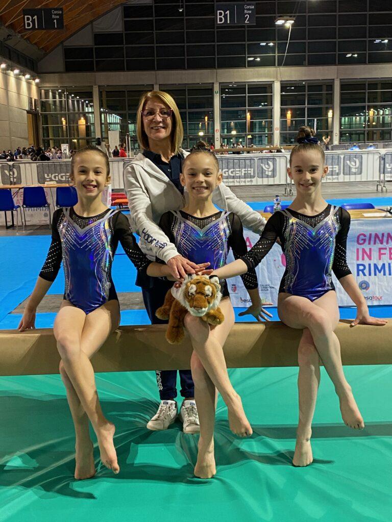 Agonistica femminile. Finale nazionale allieve Gold C3A