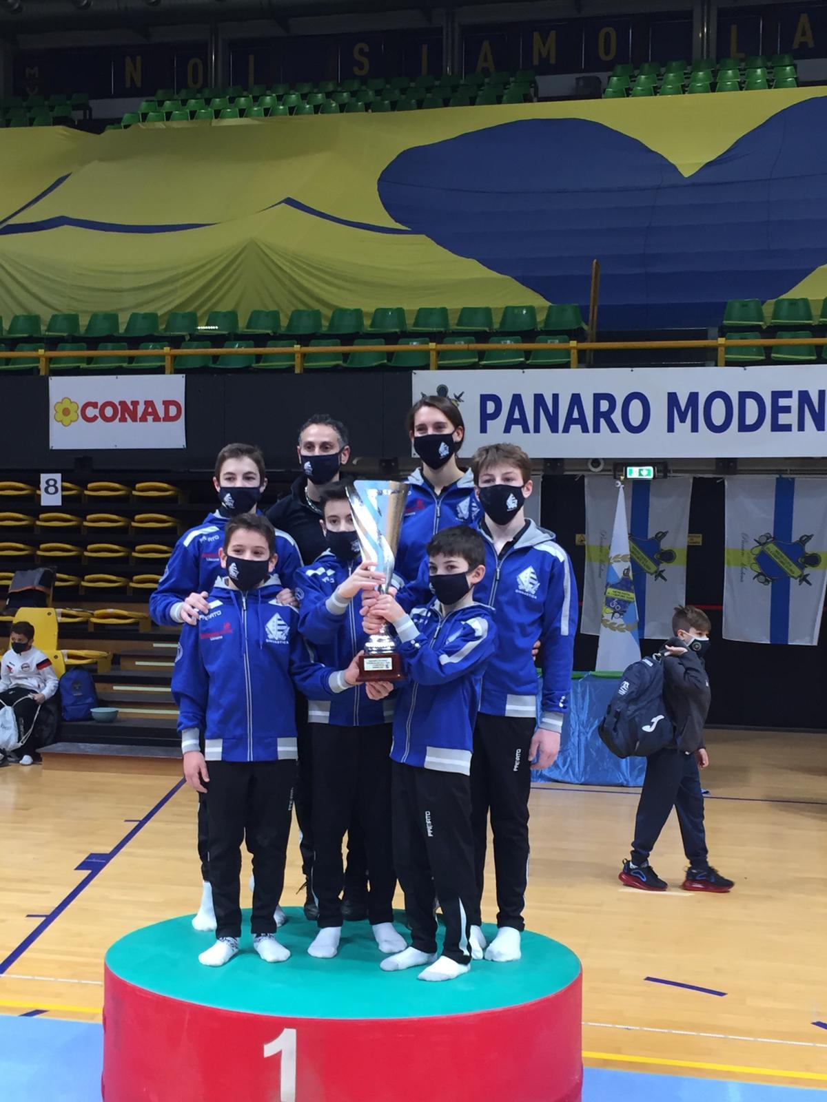 Finale nazionale Gold 1, gli allievi della Pro Lissone ancora primi!