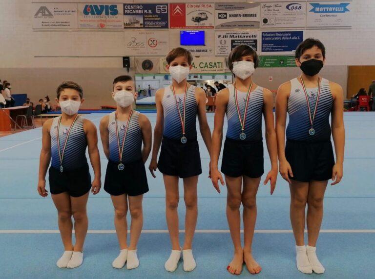 Pro Lissone ginnastica: oro e bronzo per le squadre Silver